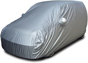 EWorld car Cover for Nissan Altima Waterproof Dustproof Effectively Reduce Temperature Universal UV Waterproof Full EWorld car Cover Outdoor Auto Sun Protection Covers