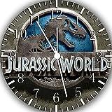 Jurassic World Frameless Borderless Wall Clock F157 Nice For Gift or Room Wall Decor