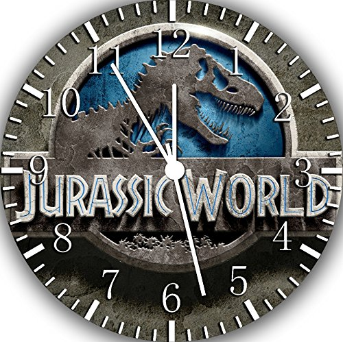 Jurassic World Frameless Borderless Wall Clock F157 Nice For Gift or Room Wall Decor