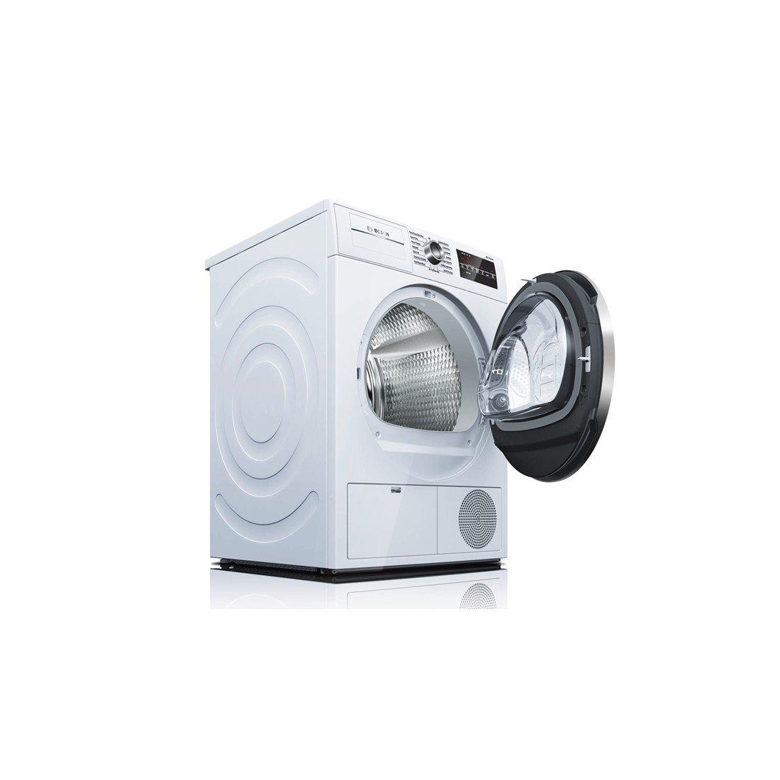 Amazon.com: Bosch WTG86402UC800 4.0 Cu. Ft. White Stackable Electric Dryer  - Energy Star: Appliances