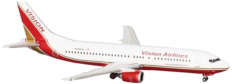Gemini Jets Jets Jets 1-400 GJ1086 Vision Air 737-400 1-400 Regno. N745VA 1cfdba