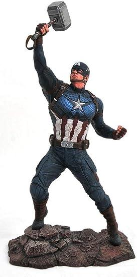 Marvel Avengers Endgame Captain America PVC Figura, Multicolor ...