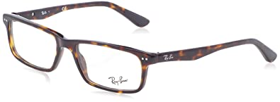 2863d8a4d7 Amazon.com  Ray-Ban Men s 0RX5277 54mm Dark Havana Reading Glasses ...