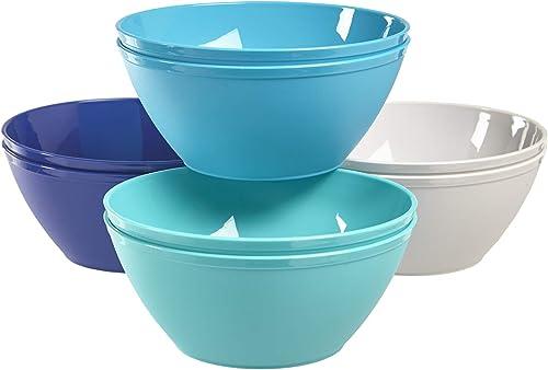 US Acrylic Fresco 6-inch Plastic Bowls