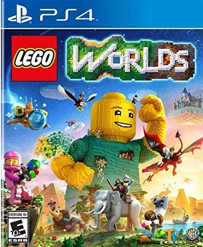 Amazon com: LEGO Worlds - PlayStation 4: Whv Games: Video Games
