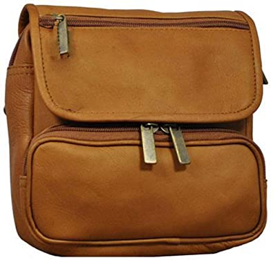 Image Unavailable. Image not available for. Color  Cape Cod Leather Tan  Large All Leather Belt Bag ab4cfe77bfe6a