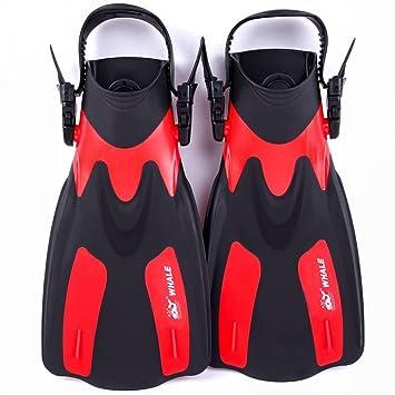 anpress Unisex adultos nadar equipo de buceo aletas Snorkel Set ... bcd18ddcafc