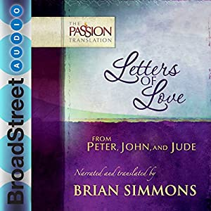 Letters of Love from Peter, John, and Jude Audiobook