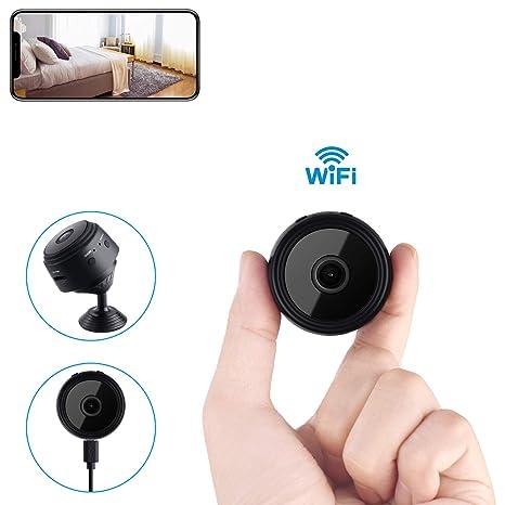 Amazon.com: Mini cámara espía inalámbrica oculta para el ...