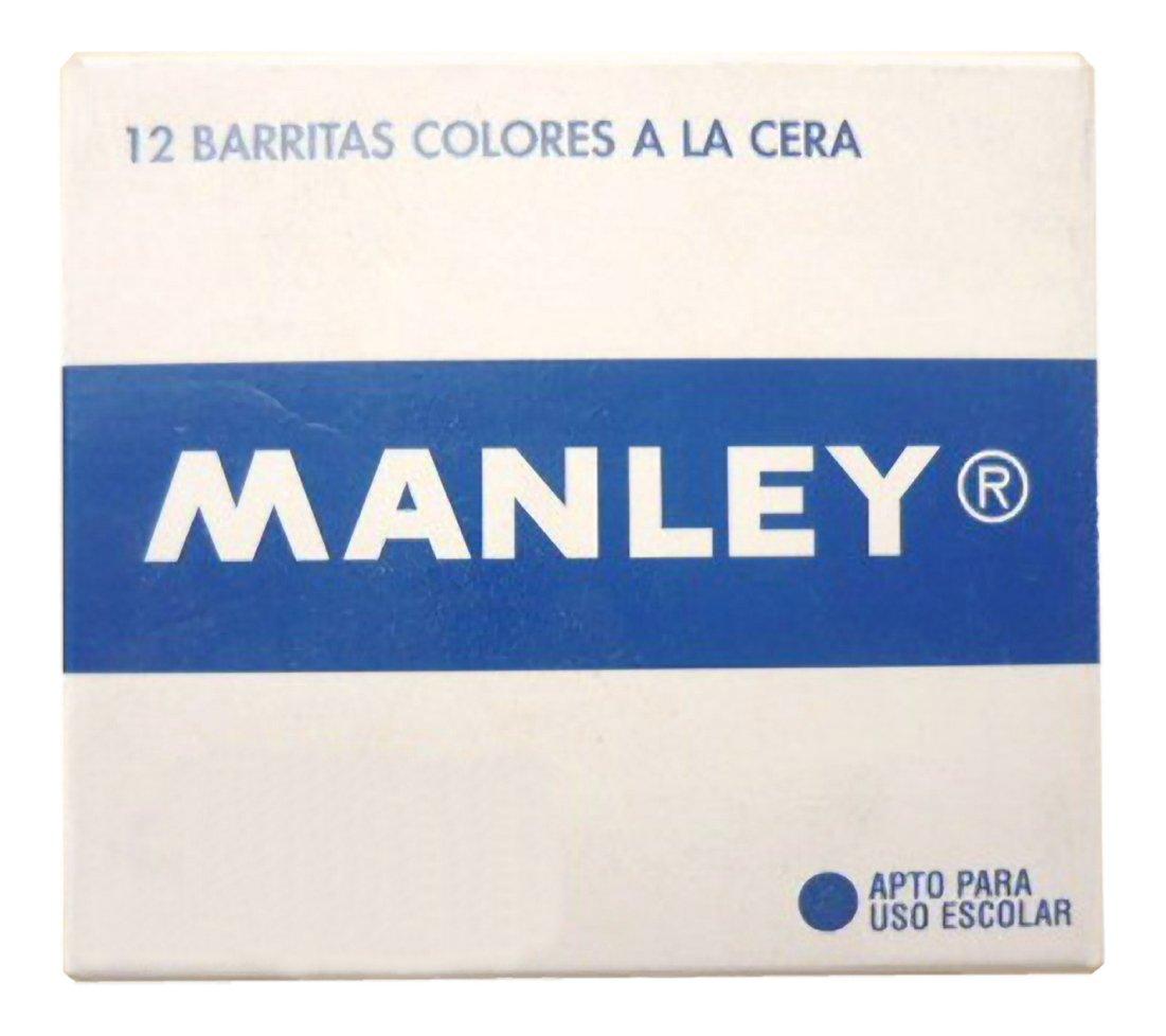 Manley MNC04475 - Pack de 12 ceras, color amarillo claro reikos_0019522742AM_0015553
