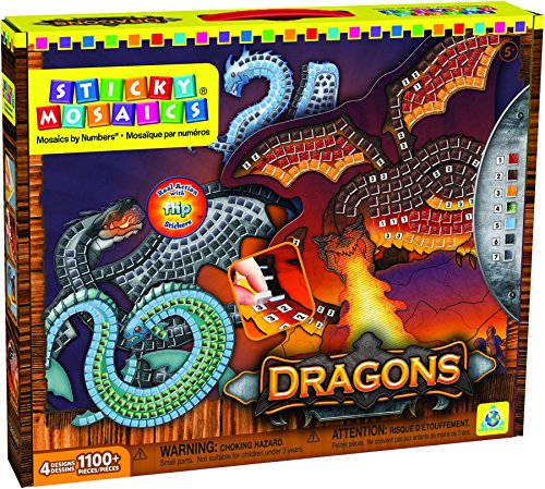 (Orb Factory Sticky Mosaics: Dragons )