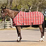 Kensington KPP Standard Cut Textilene Protective Sheet, Deluxe Red Plaid, 78