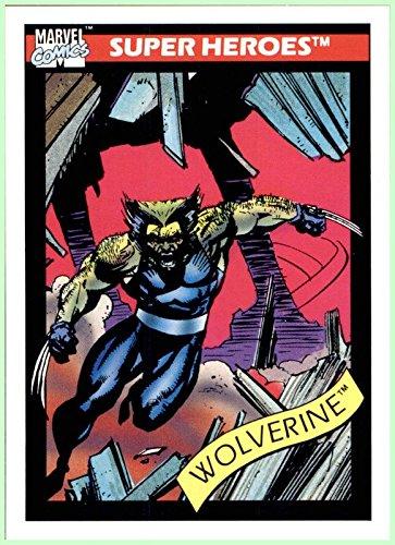 1990 Marvel Universe I #37 Wolverine X-Men Logan