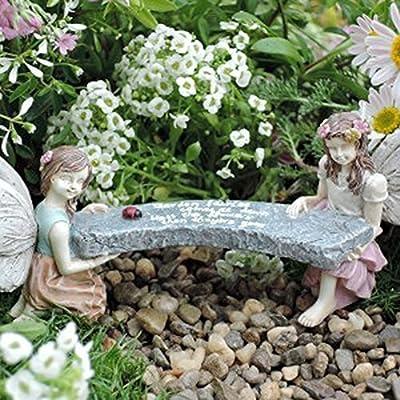 Wholesale Fairy Gardens Miniatura Jardín de hadas edición limitada Amelia & Abby de hada jardines de banco por al por mayor: Amazon.es: Hogar
