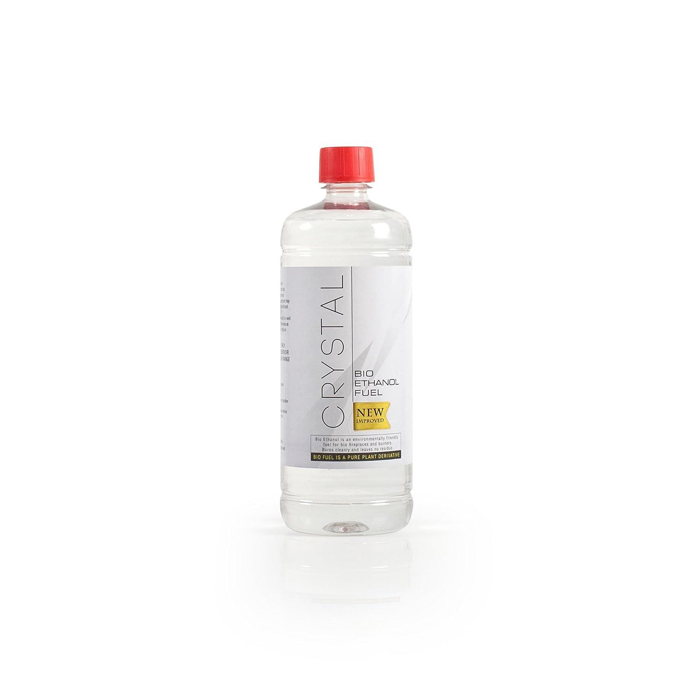 Bio Fires Crystal Bio Ethanol Fuel - 6 X 1L Bottles