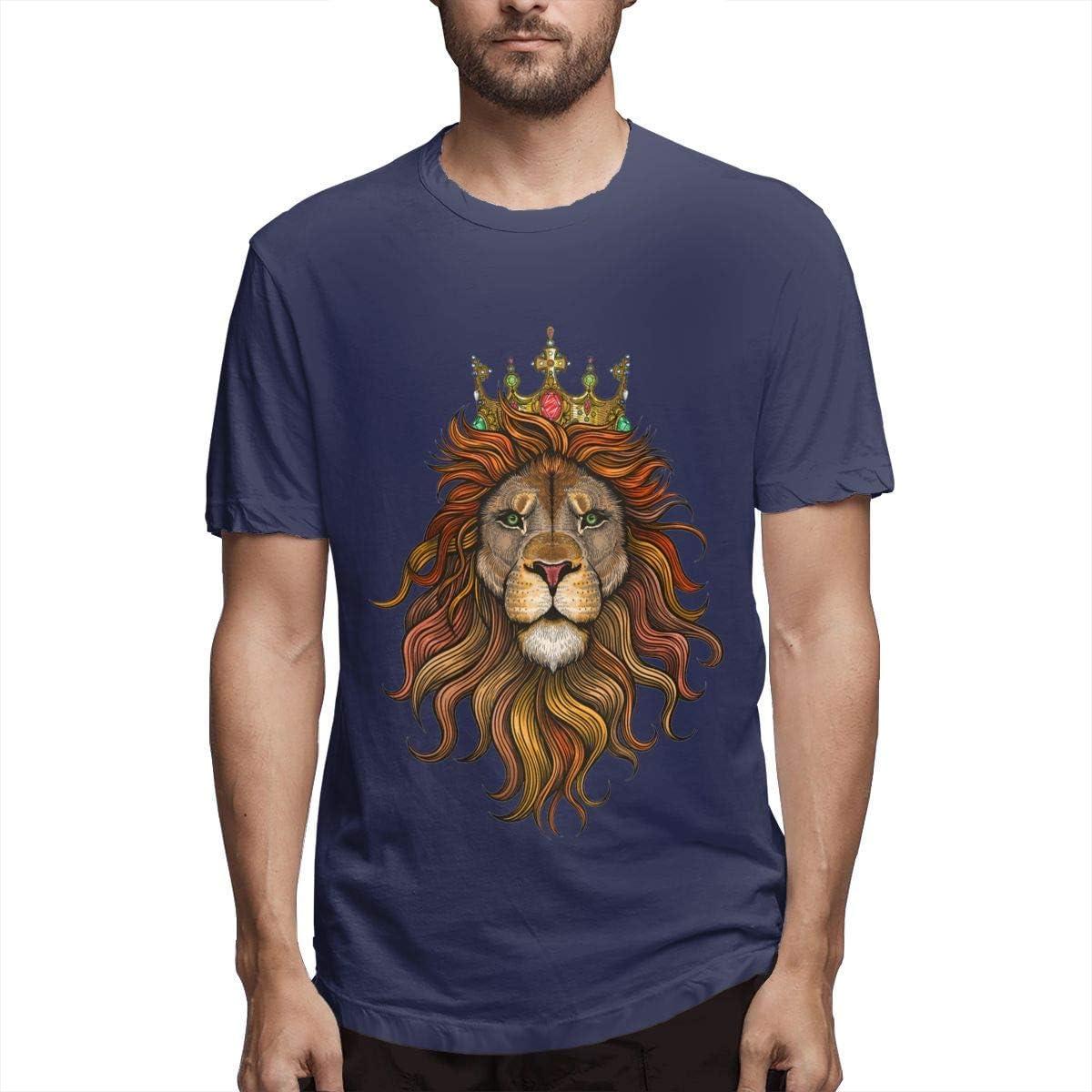 Camisetas de Humor de Manga Corta con Estampado de Rey león ...
