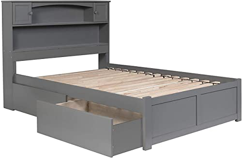 Atlantic Furniture Newport Platform 2 Urban Bed Drawer