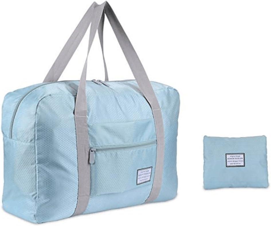 Women Men Duffel Bag, Waterproof Lightweight Travel Foldable Luggage Bag for Sports, Gym, Vacation