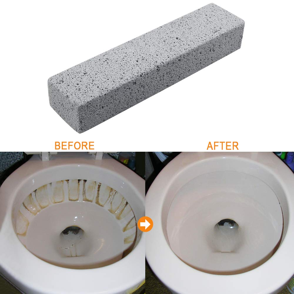 24 Pack Pumice Stone for Cleaning, Pumice Scouring Pad, Toilet Bowl Ring Remover Pumice Stick Cleaner for Kitchen/Bath/Pool/Household Cleaning, 5.9 x 1.4 x 0.98 Inch by Kulannder (Image #2)