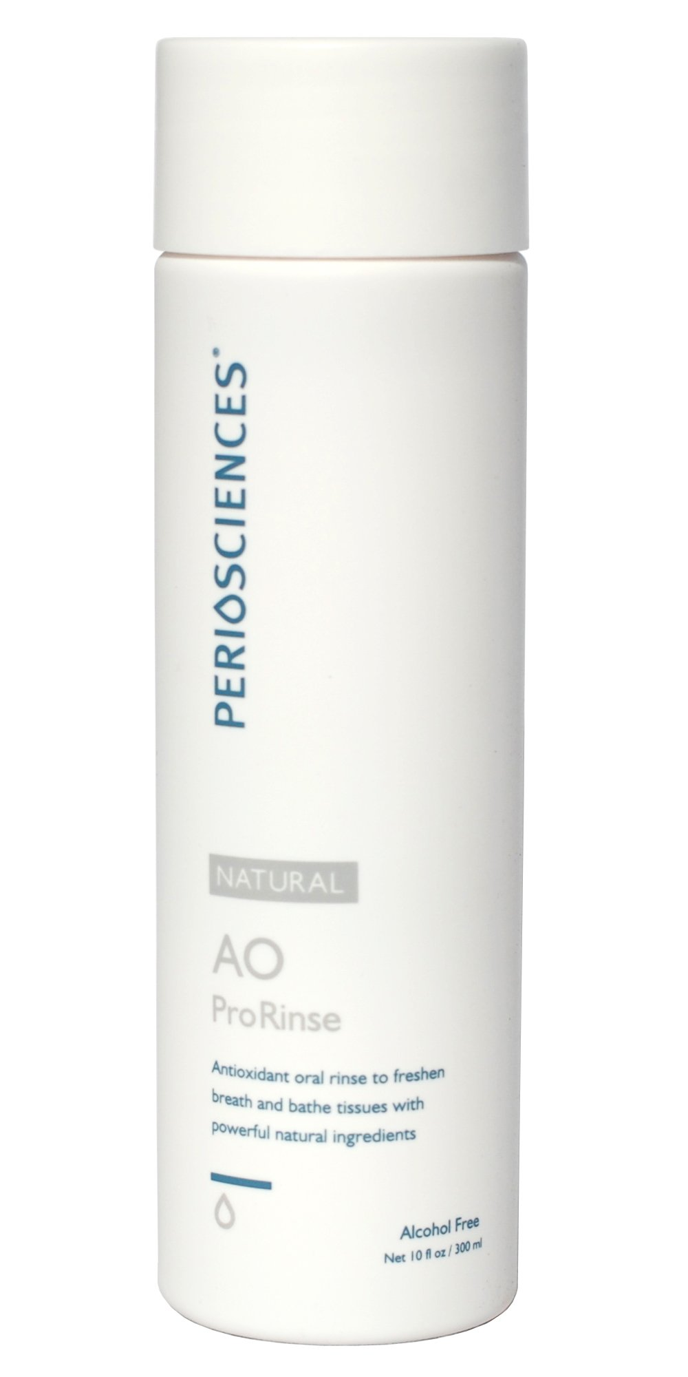 Fluoride Free Mouthrinse with Natural Antioxidants By Periosciences (10 Fl Oz Bottle) - Premium Organic Non Fluoride Mouthwash Without Alcohol - Contains Xylitol - Freshens Breath and Soothes Tissues - Achieve Your Best Oral Health!