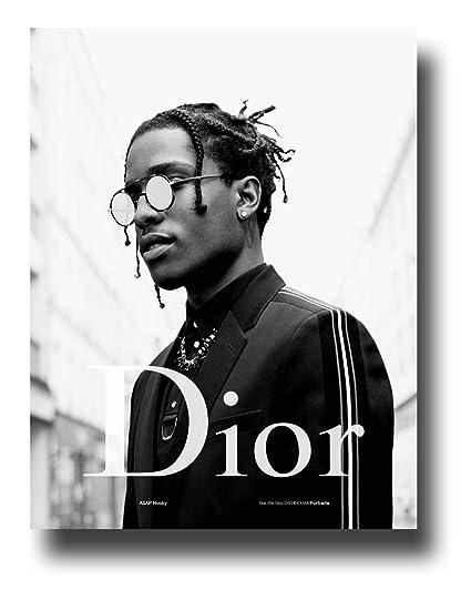05aedc96f93 Amazon.com  ASAP Rocky Poster Publicity Promo 11 x 17 inches Dior 2 ...