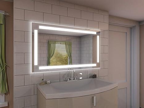 Specchio con illuminazione bonnie m217l4: design specchio per bagno