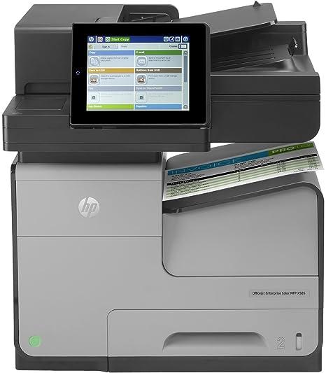 HP OfficeJet Enterprise Color MFP X585F - Impresora multifunción ...