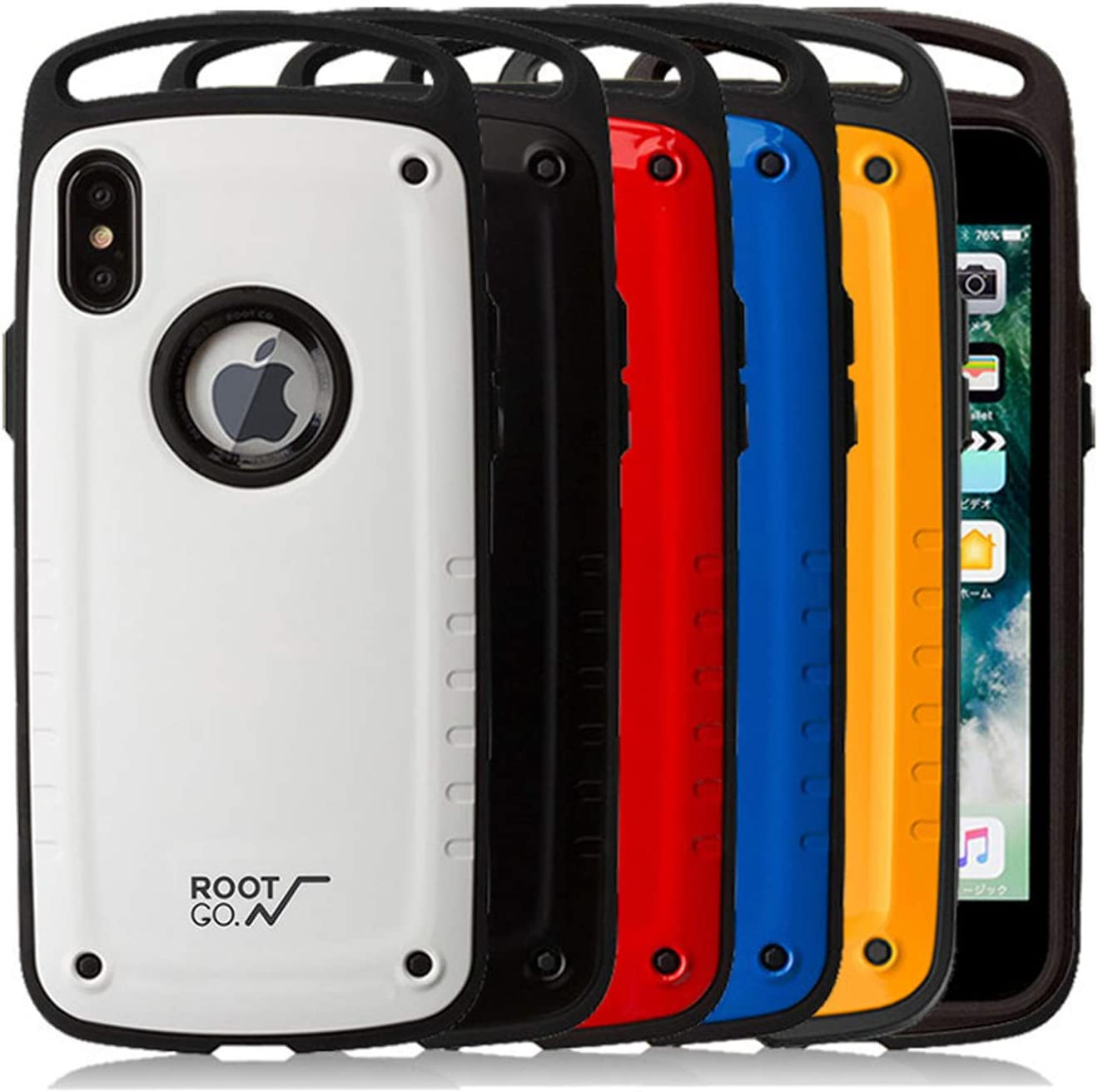 iPhone case - Ultra Protection Military Grade Drop and Shock Drop Proof Impact Resist Extreme Durable iPhone Case (Blue, iPhone 7/8)