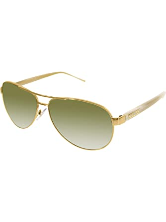 d12d41707c Amazon.com  Ralph By Ralph Lauren RL-RA4004 - 101 13 Gold and Cream with  Brown Gradient Lenses Women s Sunglasses  Ralph Lauren  Clothing