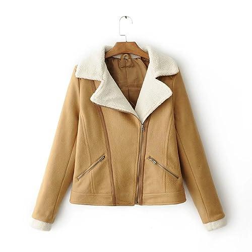 MEI&S La mujer cortos regulares Down Jacket espesa capa de algodón suelto
