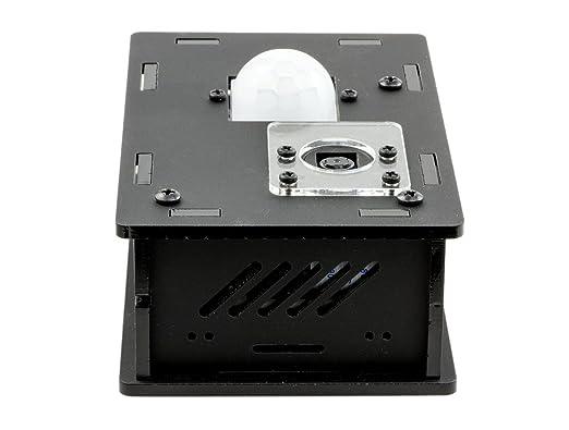ModMyPi - Pi PIR Sensor de movimiento cámara caja - B +/2/3: Amazon.es: Informática