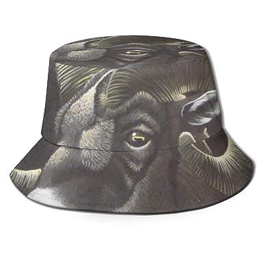 Los Sombreros de Cubo Transpirable Big Horn Flat Top Usan Gorras ...