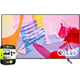 SAMSUNG QN65Q60TAFXZA 65 inch Class Q60T QLED 4K UHD HDR Smart TV 2020 Bundle with 1 Year Extended Protection Plan