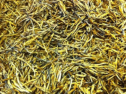 The highest grade black tea with golden needle shape in bag packing total 2 Pound (908 grams) by JOHNLEEMUSHROOM RESELLER