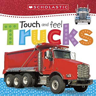Book Cover: Touch and Feel Trucks