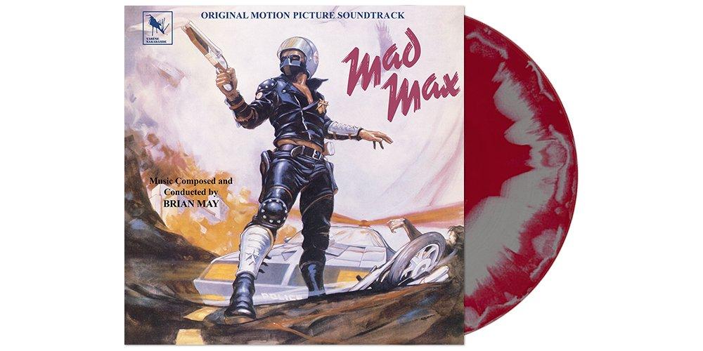 Mad Max Red & Gray Vinyl