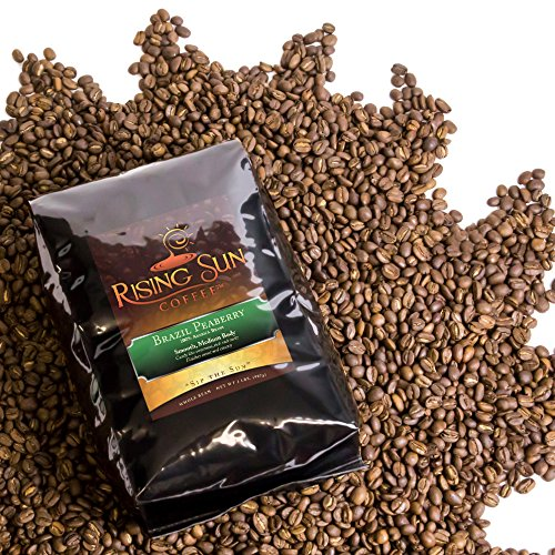 Brazil Peaberry, Roasted Coffee Beans, Highest Quality, Some...