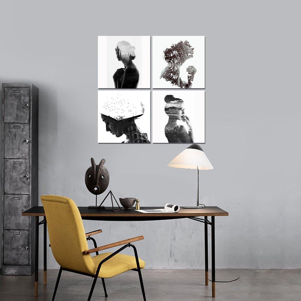 Gardenia, Creative, esposizione, donna, verticale (ritratti ...