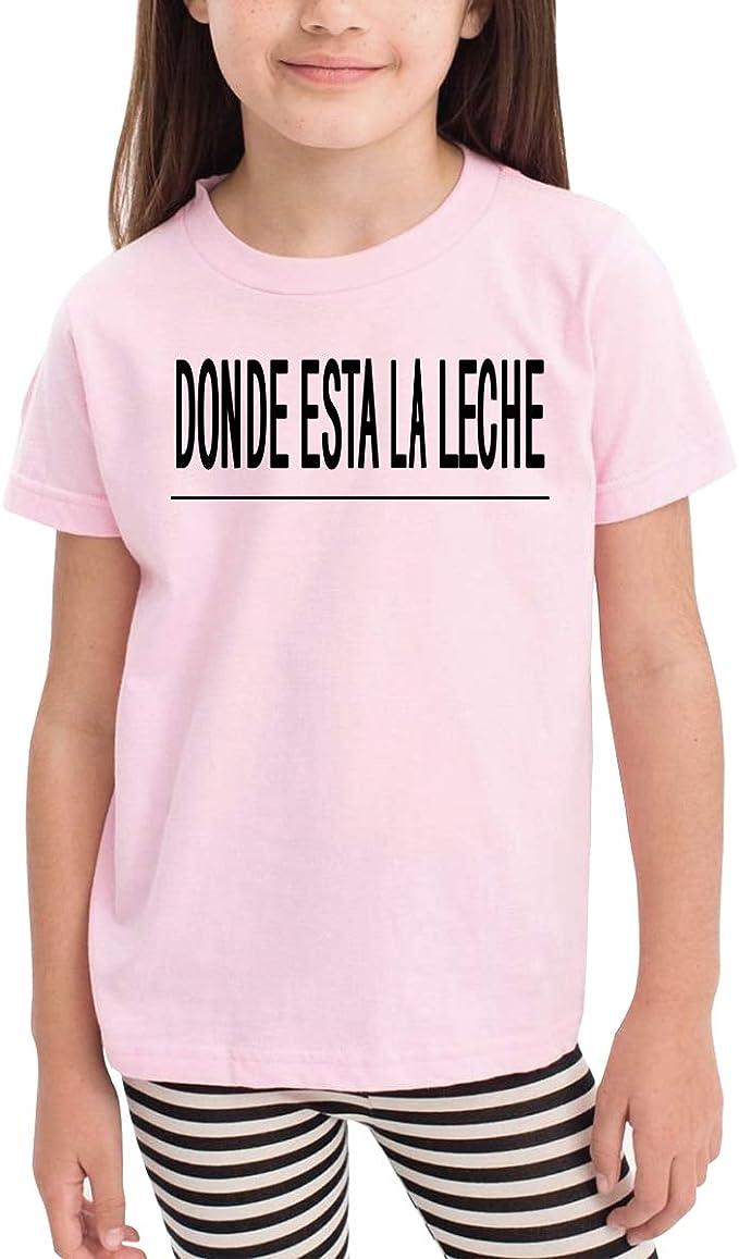 Queen Elena Donde Esta La Leche, Camiseta de algodón con Estampado ...