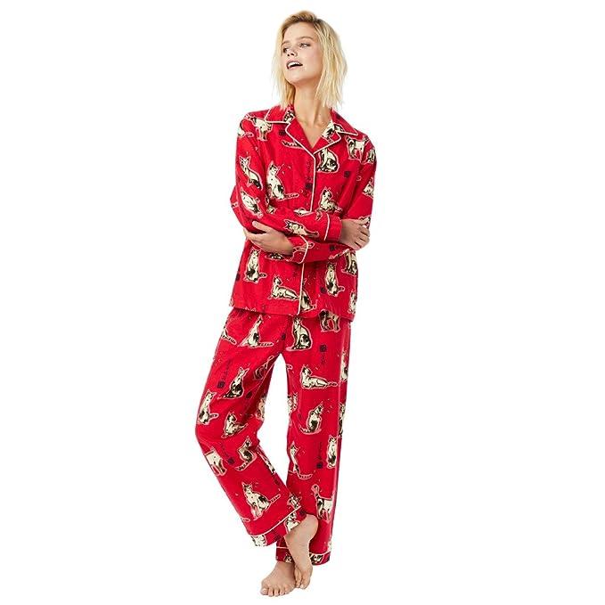 Amazon.com: El Gato De Pijama Haiku redkitty rojo pijama ...