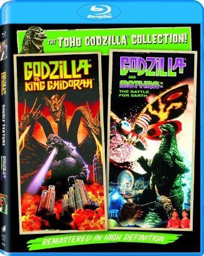Godzilla Vs. King Ghidorah / Godzilla Vs. Mothra (1992) - Set [Blu-ray] by Sony Pictures Home Entertainment