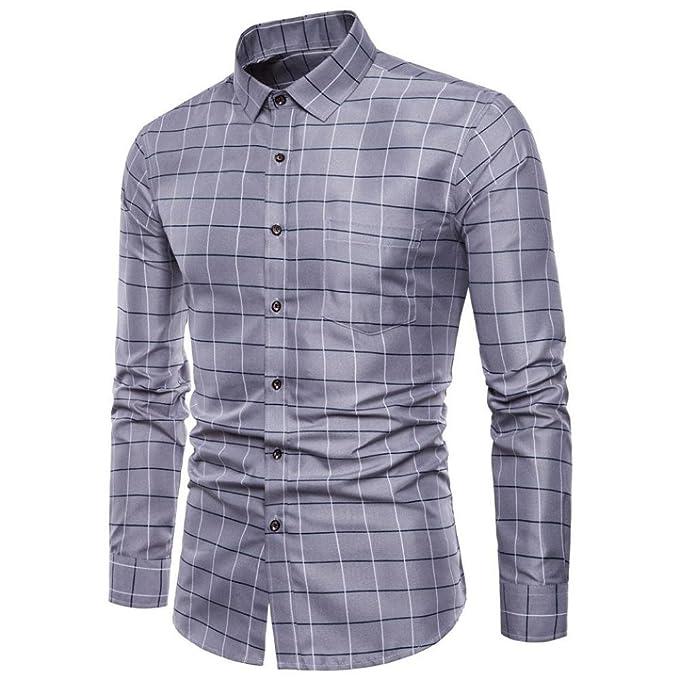 Camisas Vestir Formales Hombre, Blusas Hombre, 👔Trajes ...