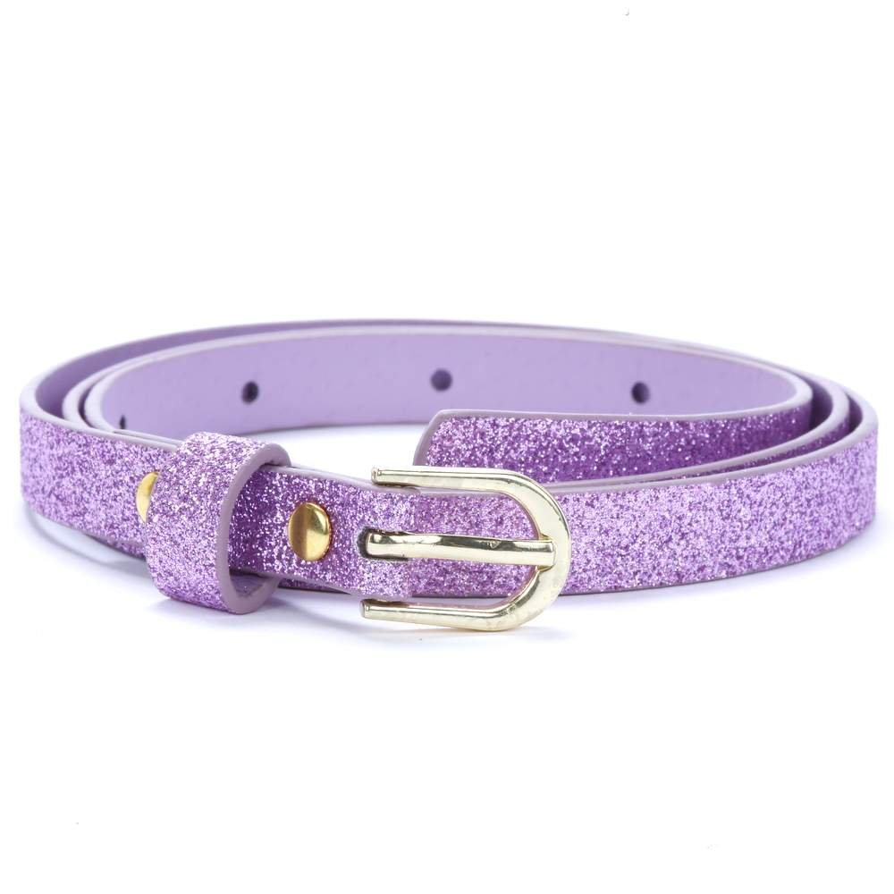 Ultra Skinny Sparkly Belt