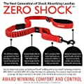 EzyDog ZERO SHOCK Leash - Best Shock Absorbing Dog Leash, Control & Training Lead