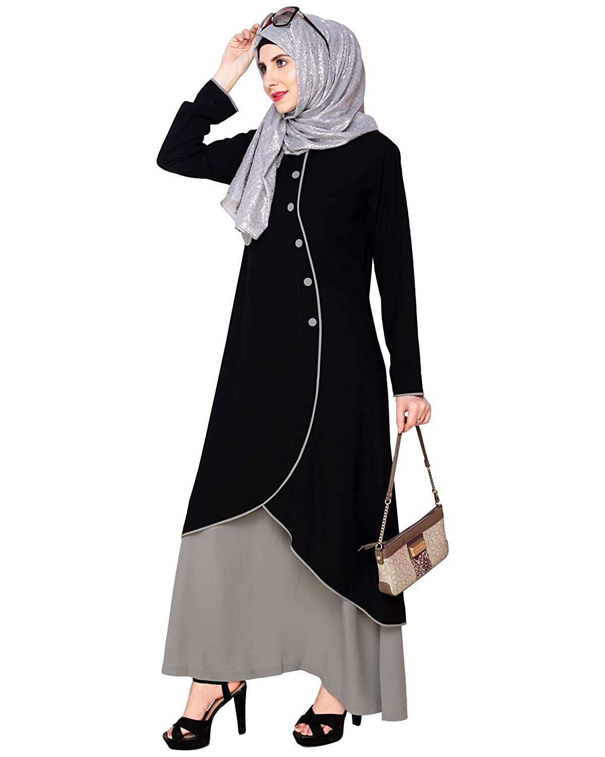 Modest Forever Two-in-one Abaya P374