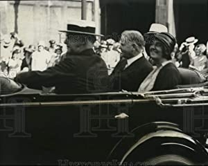 Historic Images -1931 Press Photo President & Mrs Herbert Hoover & Gov H Leslie of Ind