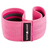 Peach Bands | Premium Pink Resistance Hip Band with Carrying Bag | Non-Slip Design