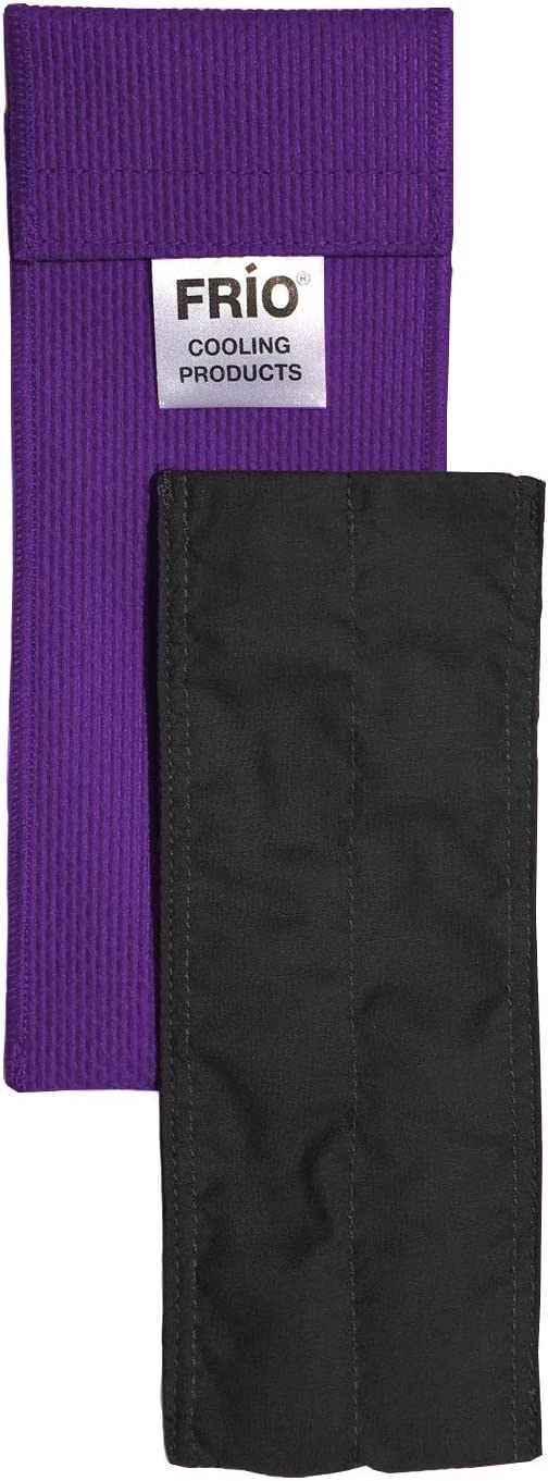 FRIO Cooling Wallet-Individual - Purple - Keep Insulin Cool Without Ever Needing icepacks or Refrigeration! Accept NO Imitation! Low Shipping Rates. Purple