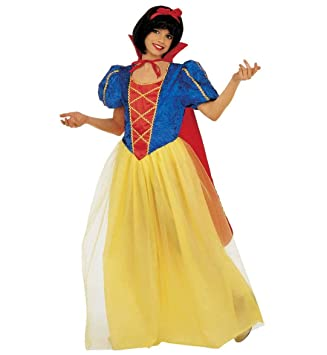 WIDMANN Disfraz Blancanieves Princesa de Cuentos para niña, talla ...
