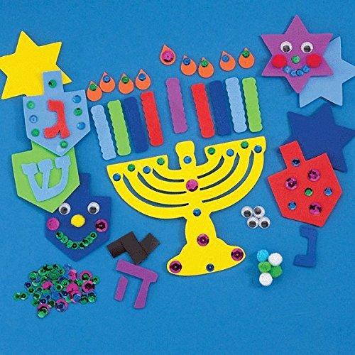 Create Your Own Hanukkah Foam Decorations Kit -